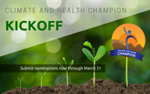 climate and health champions